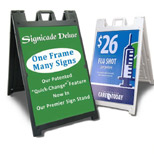 Promotional Signcade Deluxe Sign Board