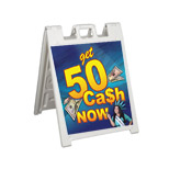 Promotional Squarecade Sidewalk Sign