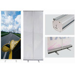 Promotional Retractable Banner Stand with Custom Banner