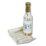 Promotional Message Bottle - 375ML - Custom Message Bottle - 375ML