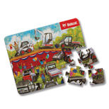 Custom 20 Piece Puzzle - Personalized 20 Piece Puzzle, Shrink Wrapped