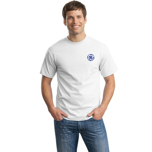 hanes® - tagless® 100% cotton t-shirt (white)
