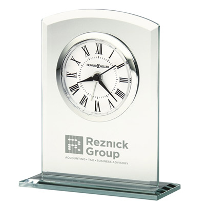 Medina Beveled Glass Clock