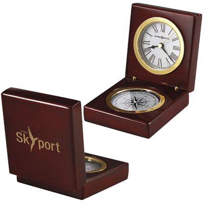 Pursuit Compass Clock