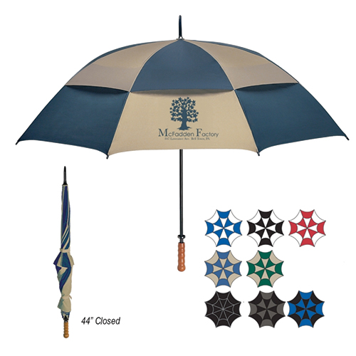 68 arc vented windproof umbrella