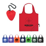 Custom Foldaway Tote - Promo Two-Tone Shopper Tote Bag