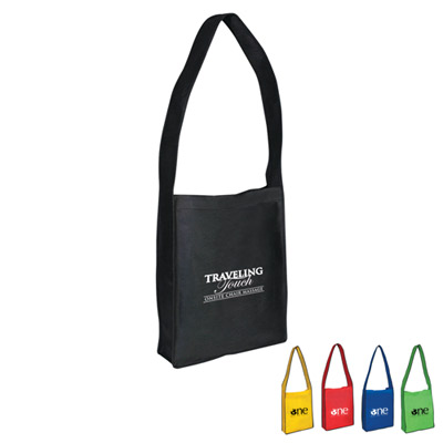 Customized Non Woven Messenger Tote