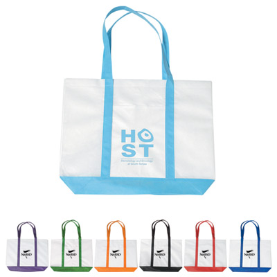 Promotional Non Woven Colored Trim Tote