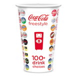 16 oz Imprinted Paper Cold Cups - Disposable Bulk Paper Cold Cups