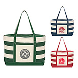 21862 - Cotton Canvas Nautical Tote