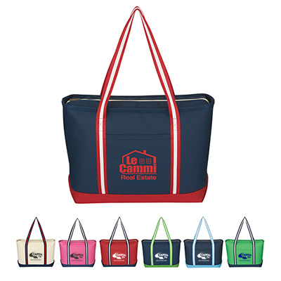 Large Cotton Admiral Tote
