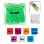 Promotional Square Gel Beads Hot/Cold Pack - Custom Square Gel Beads Hot