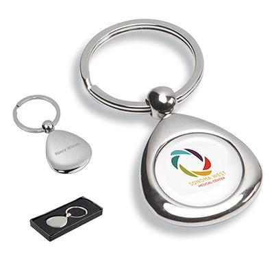 Chrome Infini Keyholder