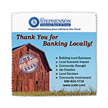 "Custom Premium Suede Microfiber Cleaning Cloth - Logo Microfiber Cleaning Cloth - 5"" x 5"""