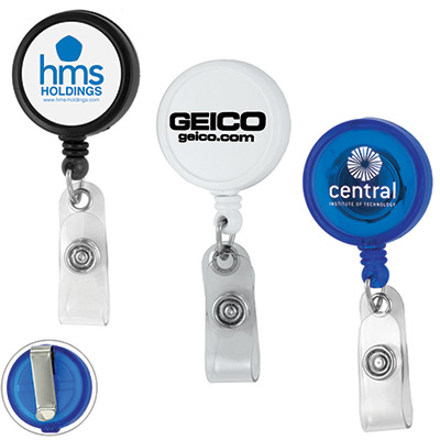 jumbo retractable badge reel