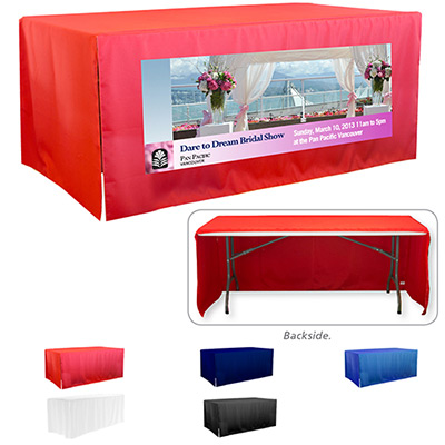 3-Sided Open Corner 8 ft Table Covers