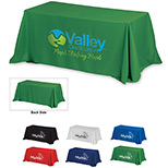 Custom Economy 8 ft Table Covers - Promo 8 ft Table Covers