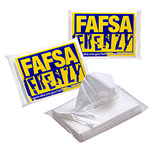 Custom Facial Tissues  with Logo - 10 Facial Tissues per Ad-Pack
