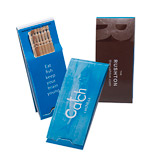 Personalized Toothpicks Booklet - 7 Full-Length Toothpicks Pack