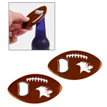 Personalized Football Bottle Opener - Logo Imprinted Basketball Bottle Opener