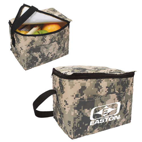 Camouflage 6-Pack Cooler Bag
