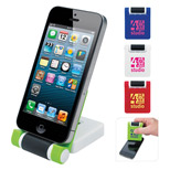 Promotional Phone Holder with Screen Cleaner - Imprinted Phone Holder with Screen Cleaner