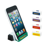 Promotional Stand Up Phone Holder with Screen Cleaner