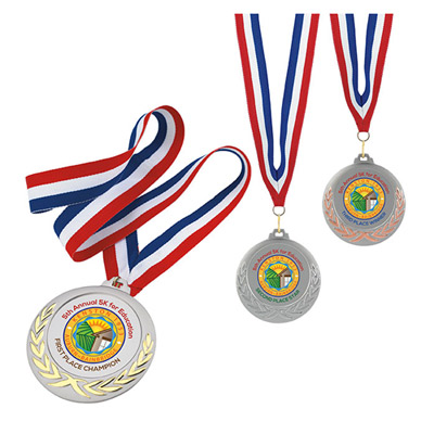 laurel wreath medals