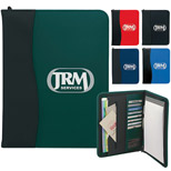 Promotional Zippered Padfolio