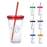 Promotional Tumbler with Colored Lid