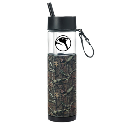 24 oz. mossy oak sport bottle with sleeve
