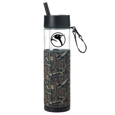 24 oz. mossy oak sport bottle with sleeve