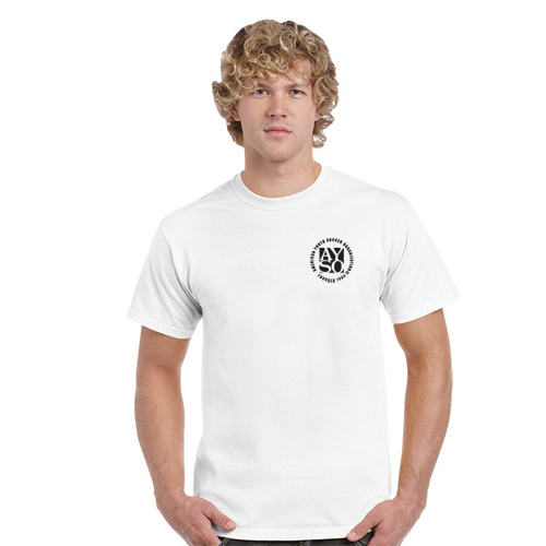Logo Gildan Heavy Cotton Adult T-Shirt - White