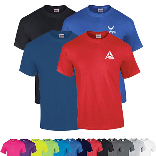 Gildan® Heavy Cotton™ Adult T-Shirt  (Color)