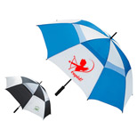 "22187 - Ventilated Large 62"" Golf Umbrella"