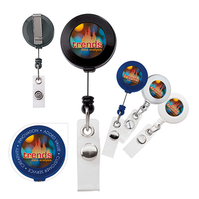 30 retractable badge holder
