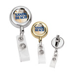 Promotional Metal Retractable Badge Holder