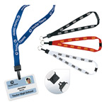 "22193 - 3/4"" Breakaway Lanyard with Keyring"