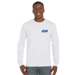 22209 - Gildan® Classic Fit Long Sleeve T-Shirt (White)