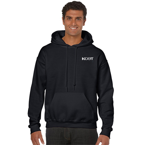 gildan® hooded sweatshirt (color)