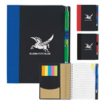 Promotional ECO Notebook with Flags