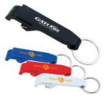22227 - Plastic Bottle Opener Keychain