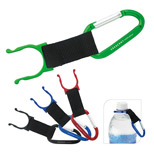 Promotional Carabiner with Bottle Holder