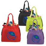 promotional shell cinch tote bag