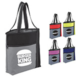Promotional Wake Up Meeting Tote Bags