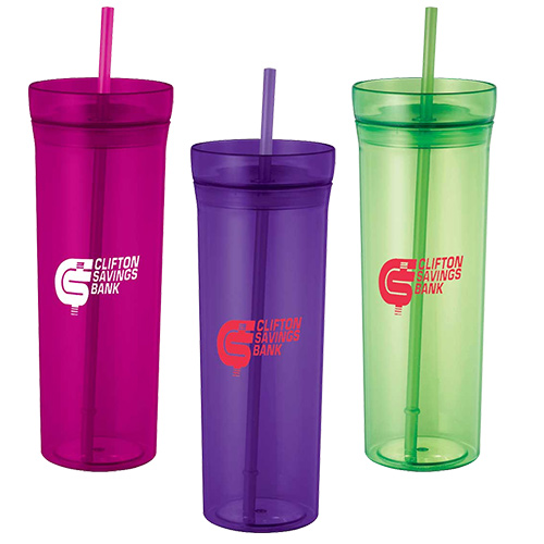 3fc9dd455df Personalized Tumblers With Straw | Custom Tumblers - Promo Direct