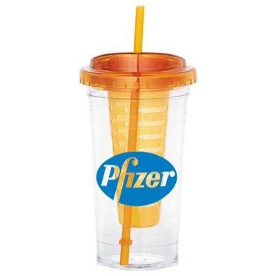 24 oz cool gear® fruit infuser tumbler