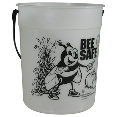 87-oz. Glow-in-the-Dark Pail