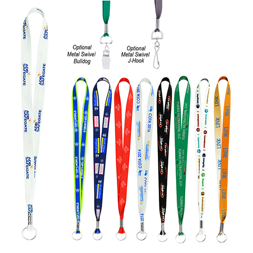 36 full color smooth lanyard