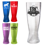 22398 - 18 oz. Plastic Pilsner Glass